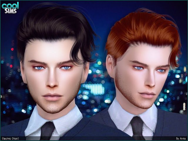 Sims 4 CC's - The Best: Hair by Anto | Sims mods, Lockige ...
