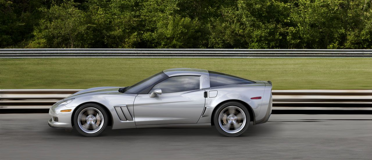 2013 Chevy Corvette Grand Sport in Blade Silver Metallic