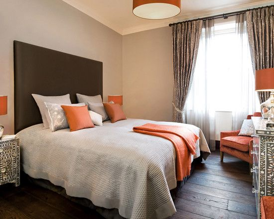Pin By Karlie Orender On My House Is A Home Orange Bedroom Decor