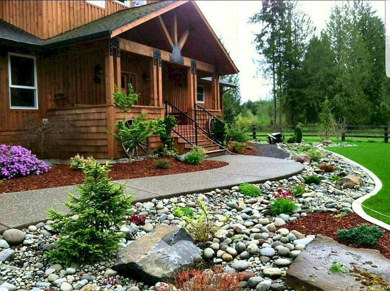 31 low maintenance small front yard landscaping ideas ...