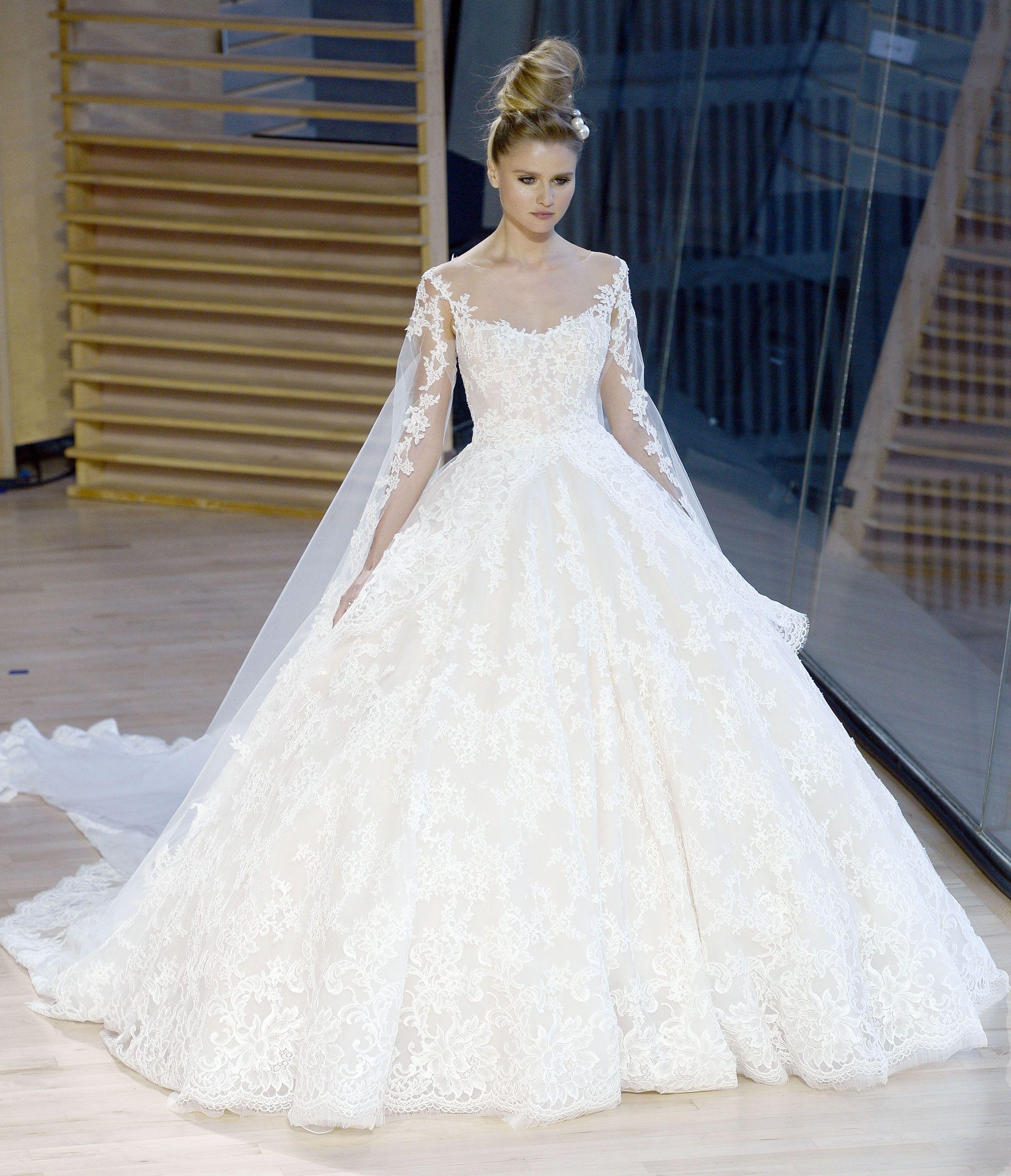 stunning fall looks from bridal fashion week fall wedding