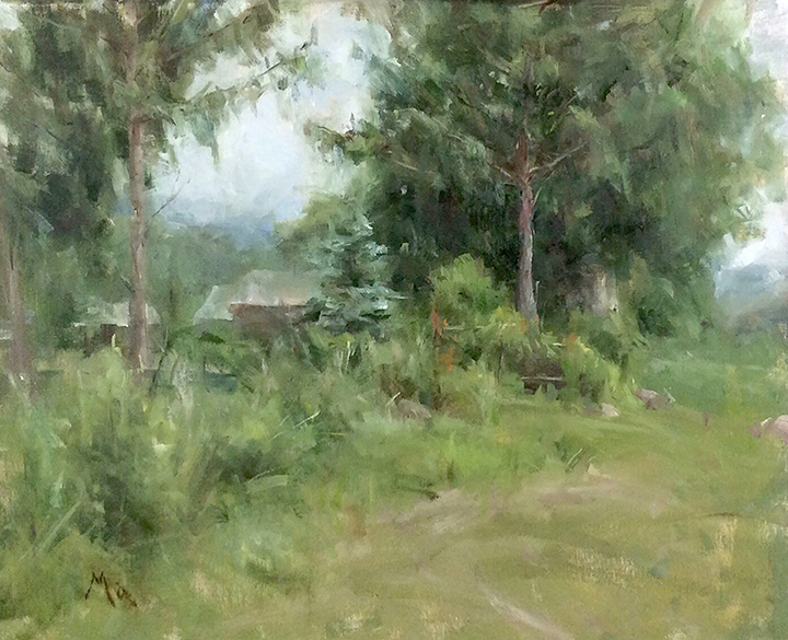 Kyle Ma, Artist, Waterhouse Gallery, Impressionist artist