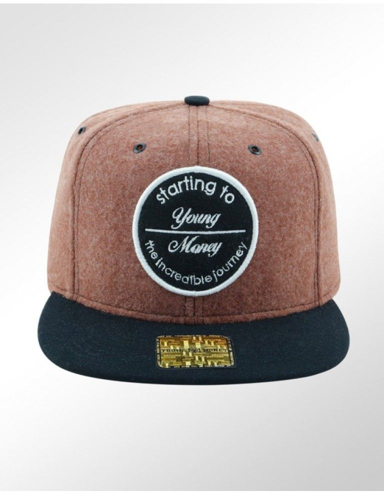 BONE ABA RETA YOUNG MONEY SNAPBACK YME5022MRR STARTING  984c678b299