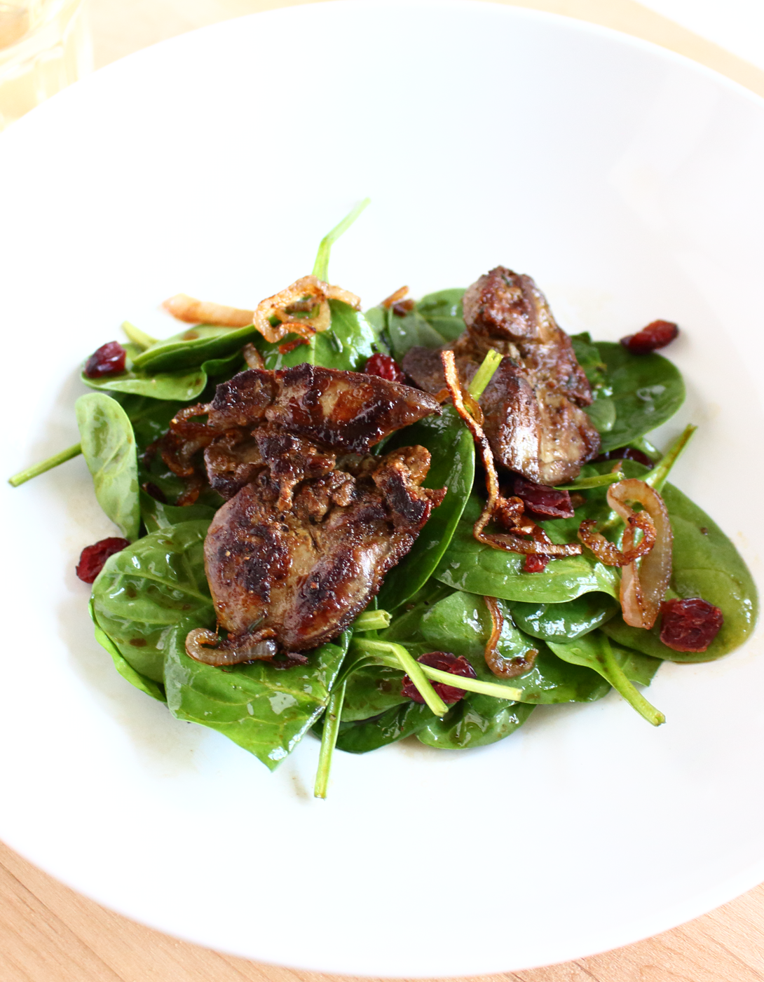 Goat liver with dill leaves indian kitchen cooking recipes - If You Like Chicken Liver This Salad Is Absolutely Delicious The Key Is To