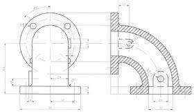 Dibujo Tecnico Y Algo Mas Acotacion En Dibujos Norma Din 406 Tecnicas De Dibujo Vistas Dibujo Tecnico Diseno De Espacios