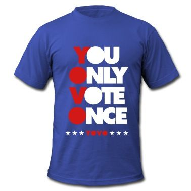 KCCO - YOVO  YOU ONLY VOTE ONCE 2 T-Shirt