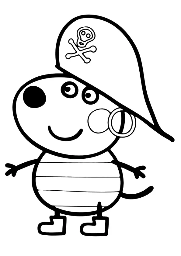 Candy Cat 16 Coloring Page Peppa Pig Coloring Pages Peppa Pig Colouring Peppa Pig Drawing
