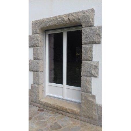 Porte Fenêtre Pvc Vitrée Avec Soubassement Ouverture Battante