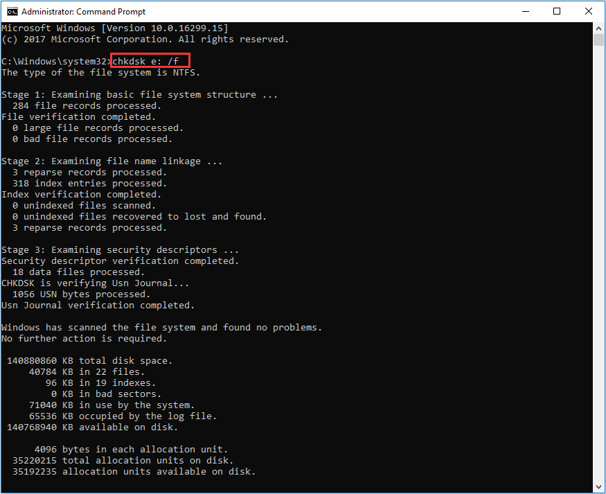 Chkdsk F Or R Difference Between Chkdsk F And Chkdsk R Windows 10 Windows Programs Hard Drive