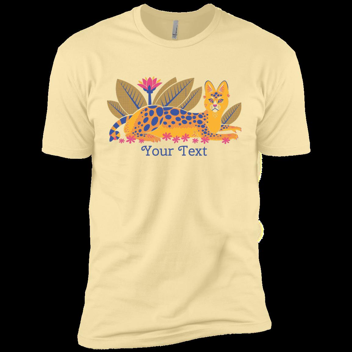 Serval Garden Custom Next Level Premium Short Sleeve Tee