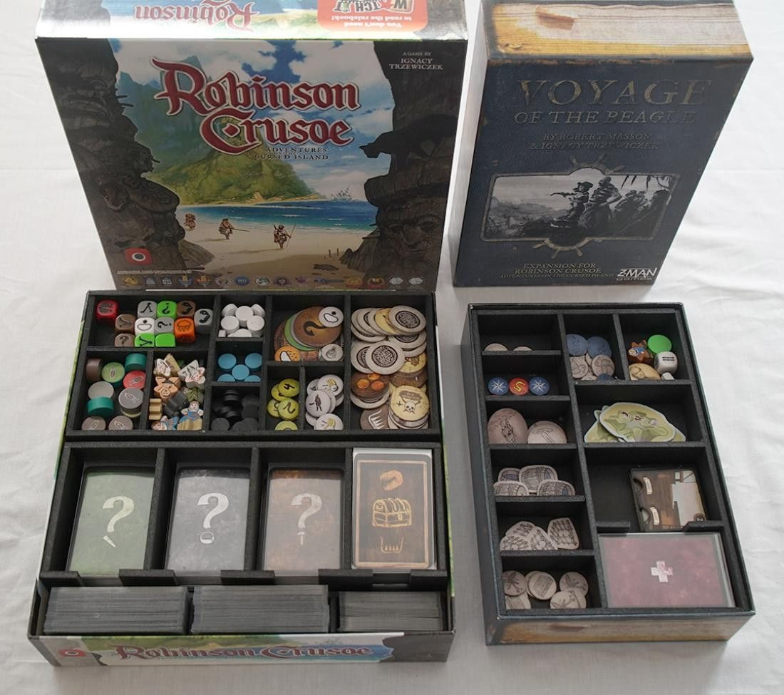 Robinson Crusoe Insert