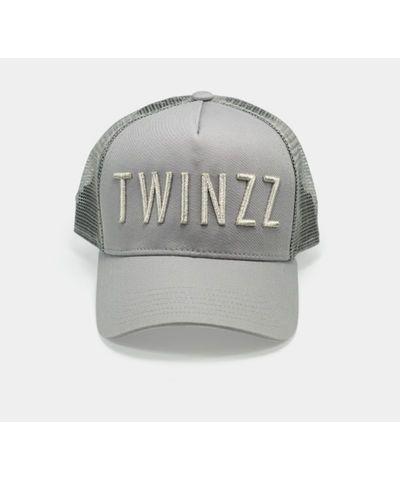 3a723a263 Twinzz 3D Mesh Trucker Cap Grey/Silver-Twinzz-Gym Wear | Twinzz ...