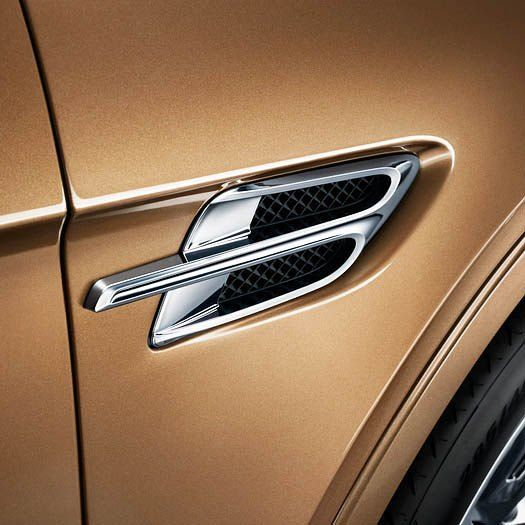 Bentayga Features An Intelligent Mix Of Materials With An