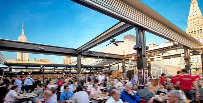 Nyc S 10 Best Bars And Restaurants For Rooftop Drinking