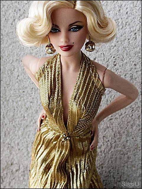 Barbie as Marilyn Monroe by SissiU Albor, via Flickr ...