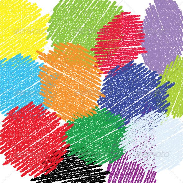 Vector Brushes Crayon Look Painting GraphicRiver Vector