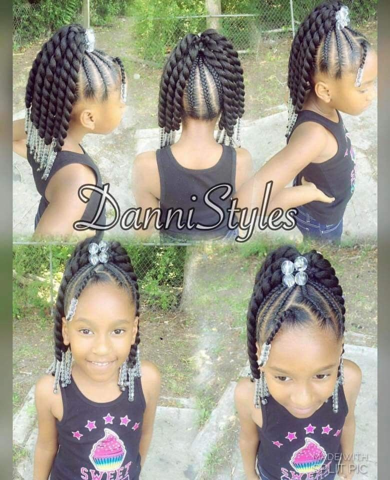 Cornrows Into Twists Kids Hairstyles Lil Girl Hairstyles Hair