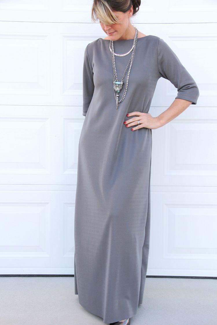 Easy Maxi Dress DIY   Nähen, Couture und Schnittmuster
