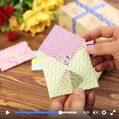 ¡Una idea simple y muy lindo regalo!
