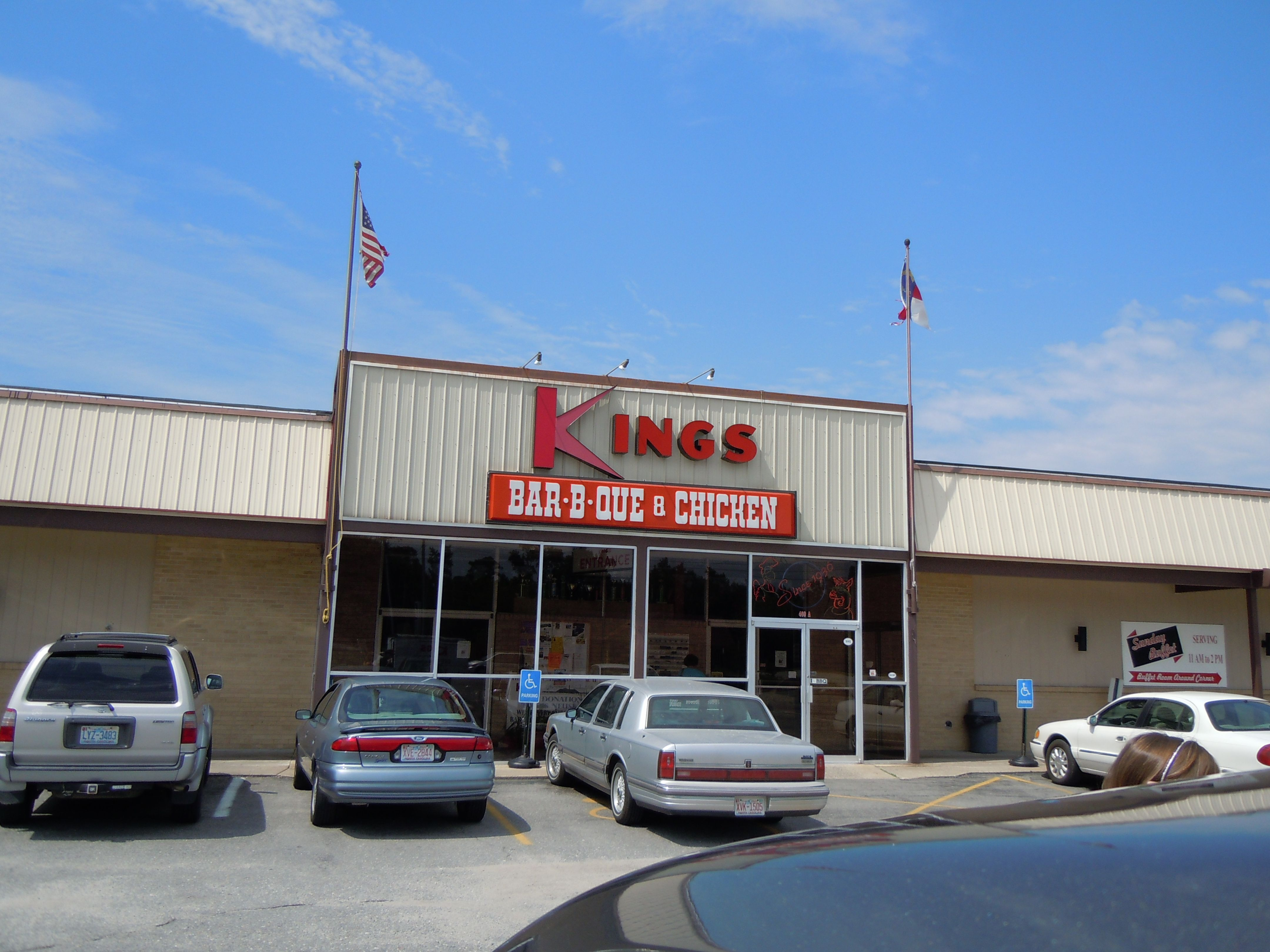 kings bbq kinston nc we stop here every year for lunch