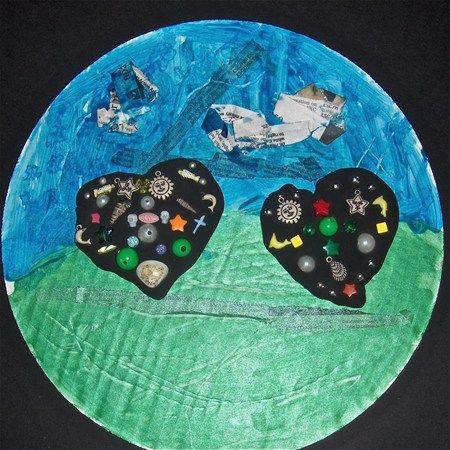 Homage to DIne/ Two Black Hearts  Lubin/Hanscom Primary School Grade 1