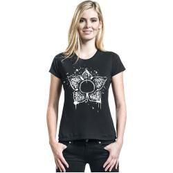 Photo of Stranger Things Demogorgon Damen-T-Shirt – schwarz – Offizieller & Lizenzierter Fanartikel