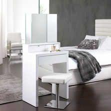 Marilyn Dressing Table White Bedroom Dressing Table Small White