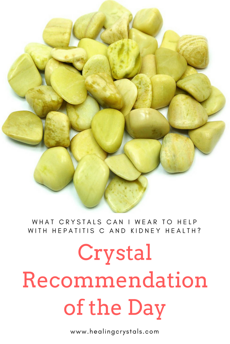 Crystal Recommendation for 3/5/18: