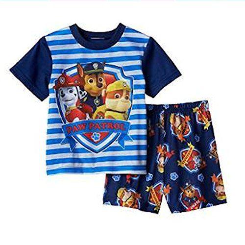 Nickelodeon Paw Patrol Boys 2-Piece T-Shirt and Mesh Short Set