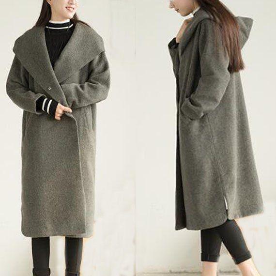 8bb79c1e5d7 Long Women Fall Wool Coat Wool Coat Wool Jackets
