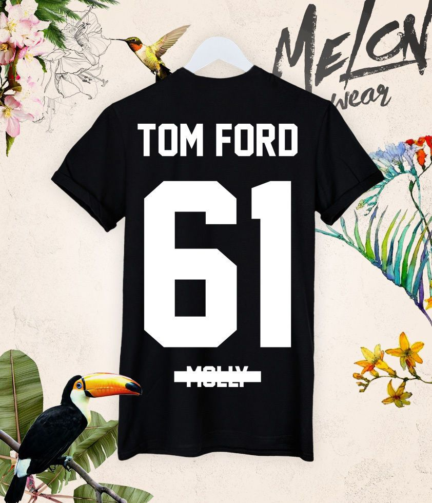 TOM FORD 61 molly t shirt tee back fashion concert fashion kanye jay yeezus NEW