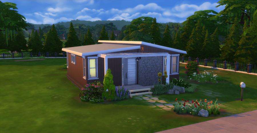 Epingle Par Sims Artists Sur Sims 4 House Design En 2020 Immobilier Construction Maison