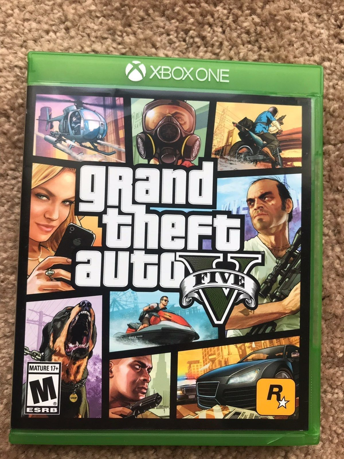 Used But In Excellent Condition Grand Theft Auto 5 For The Xbox One Grand Theft Auto Gta V Xbox One Grand Theft Auto Series