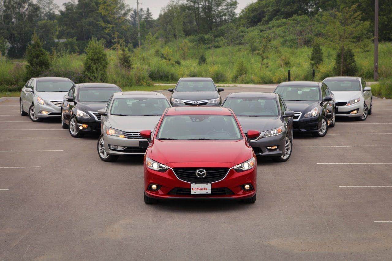 2013 14 Mid Size Sedan Comparison Test: Toyota Camry Vs Honda Accord Vs .