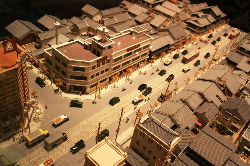 Osaka Museum of Housing and Living - re-created buildings and streets that show what life was like in Osaka's past. #odigo #japantravel