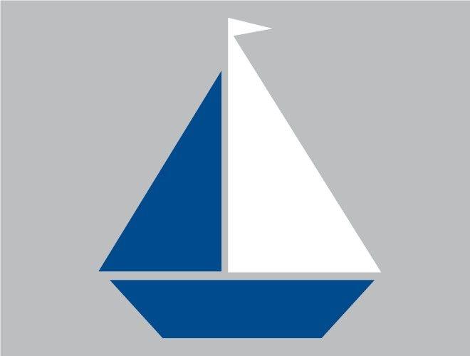 sailboat stencil template ocean pinterest stenciling