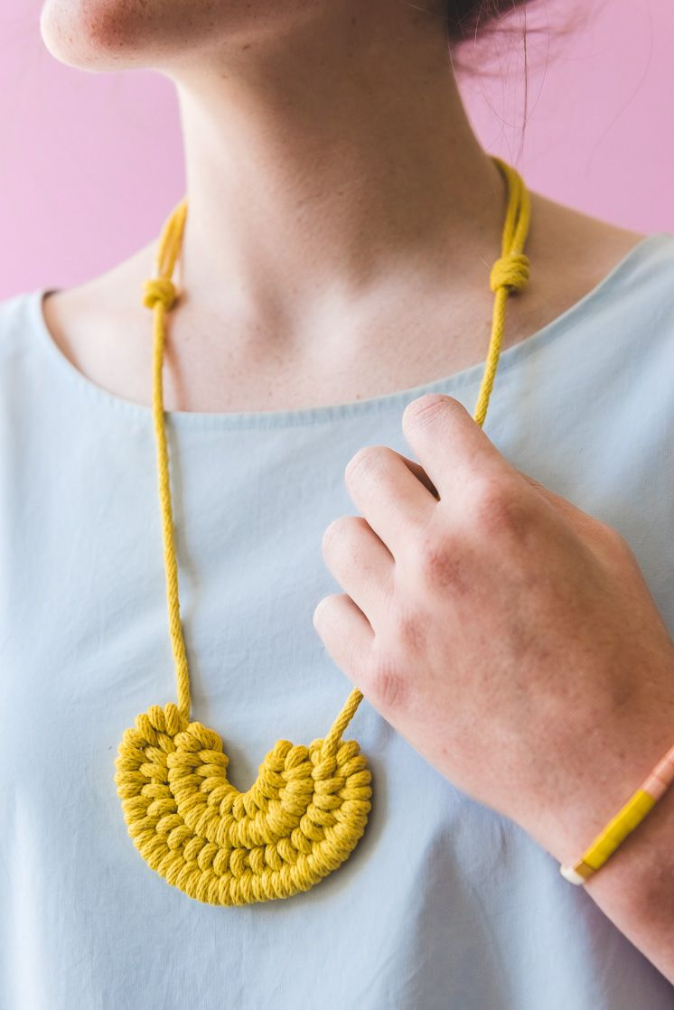 Make a DIY Knot Necklace - The House That Lars Built