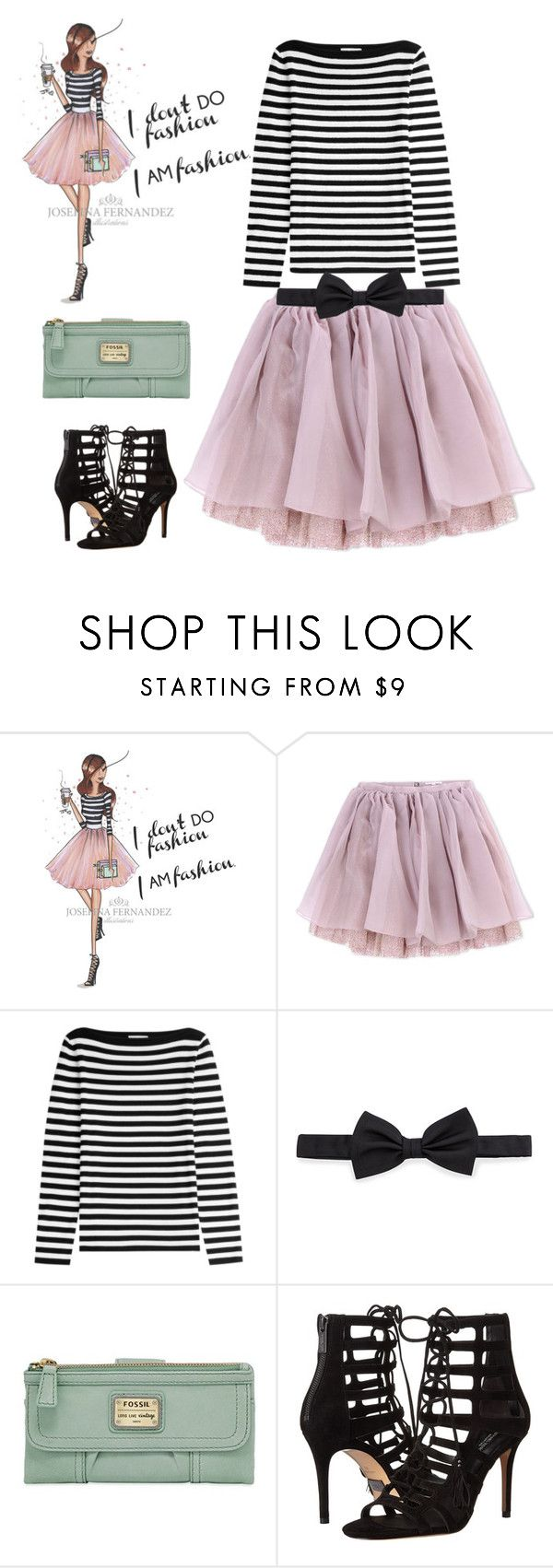 """""""Untitled #3617"""" by bbossboo ❤ liked on Polyvore featuring Olympia Le-Tan, Michael Kors, Lanvin and FOSSIL"""