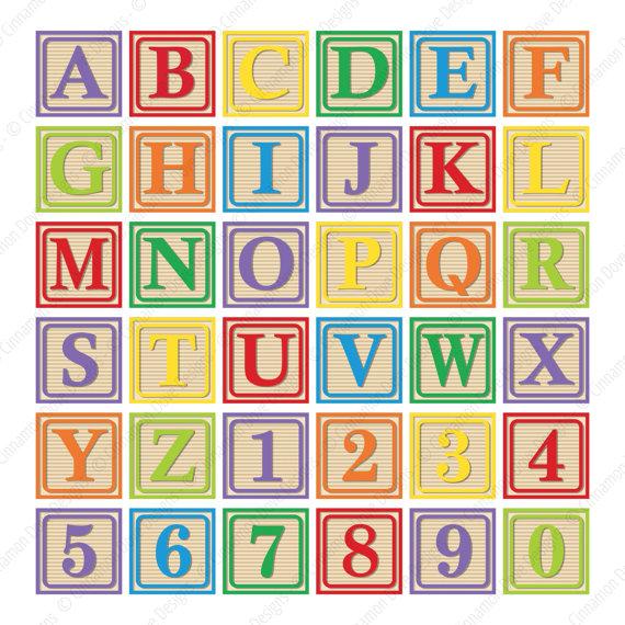 Abc Blocks Baby Blocks Baby Clip Art Baby Shower Clipart