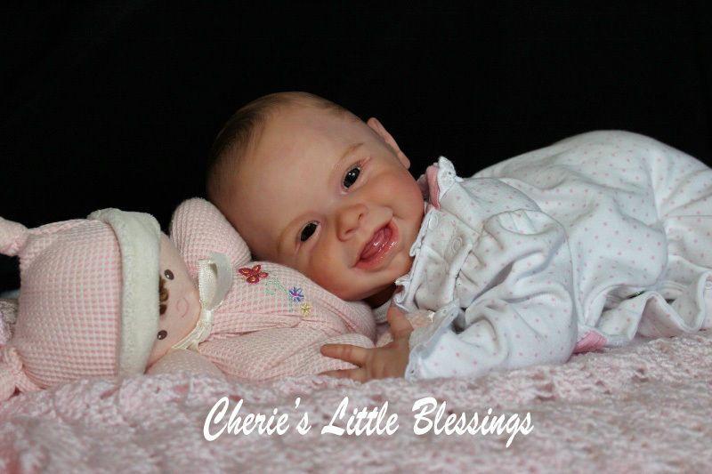 Cherie's Little Blessings Reborn Doll Baby Girl Sold Out Harper Andrea Arcello | eBay
