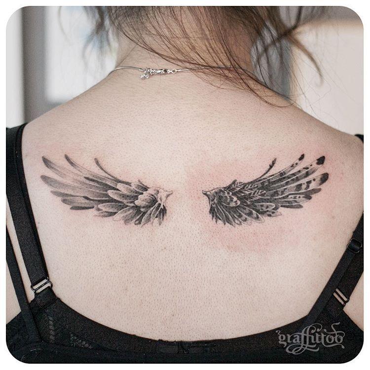 Kleine tattoos männer rücken