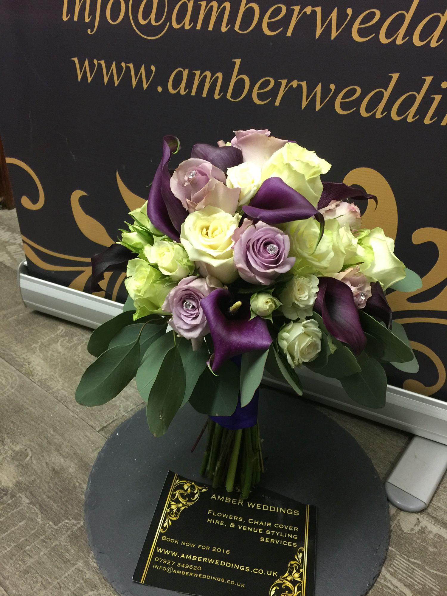 Bridal flowers for wedding at bedford barns shades of purples and bridal flowers for wedding at bedford barns shades of purples and ivory izmirmasajfo Choice Image