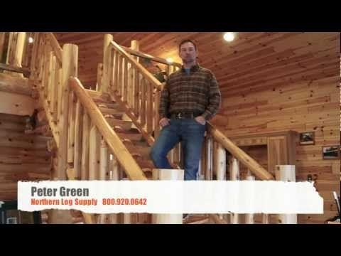 Northern Log Supply Logs, Siding, Rails
