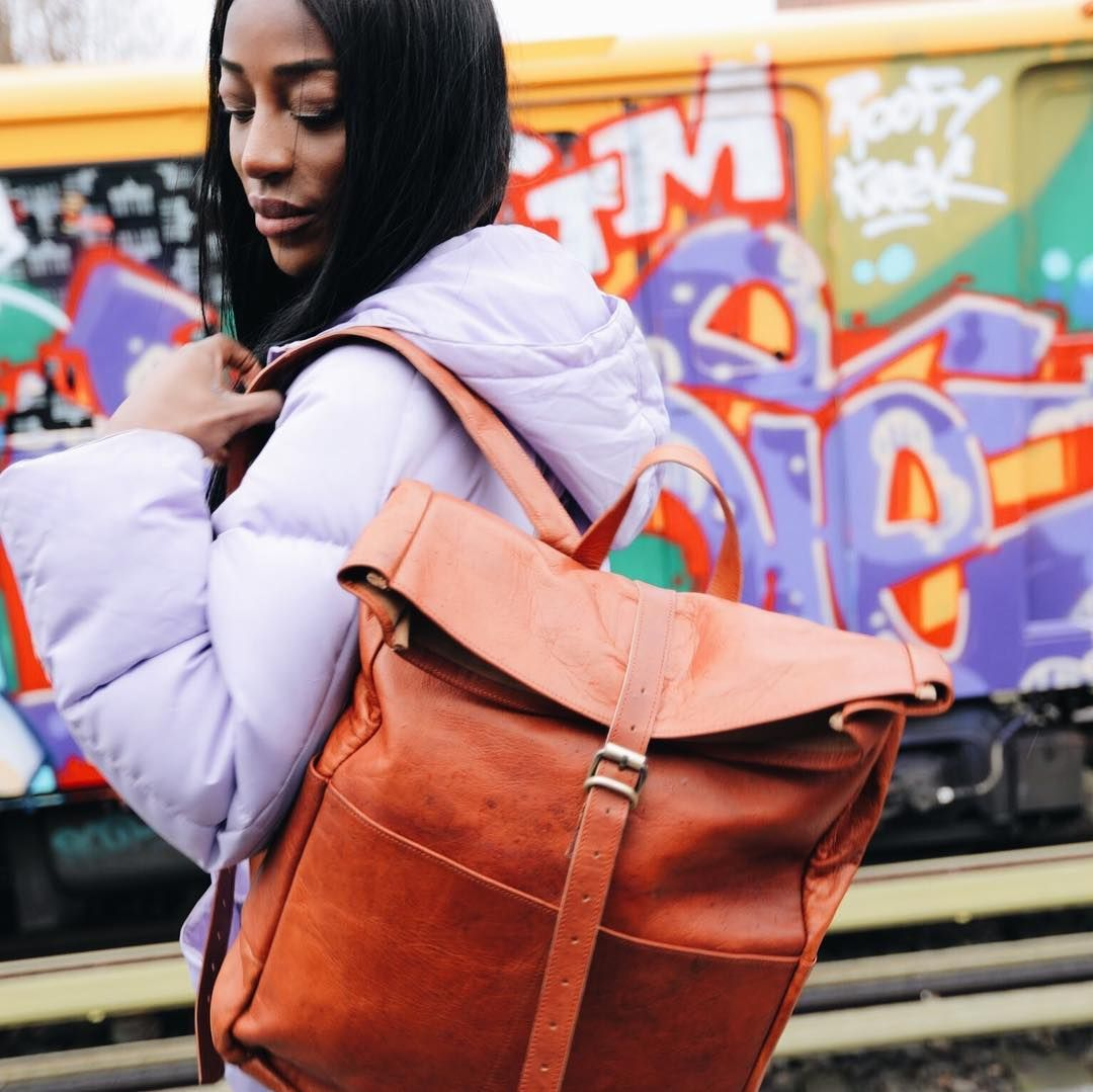 Berliner Bags Backpack Paris Xl So Do Have A Backpack For Your Spring Adventures Rolltop Backpack Genuine L Trekkingrucksack Fahrradrucksack Taschen