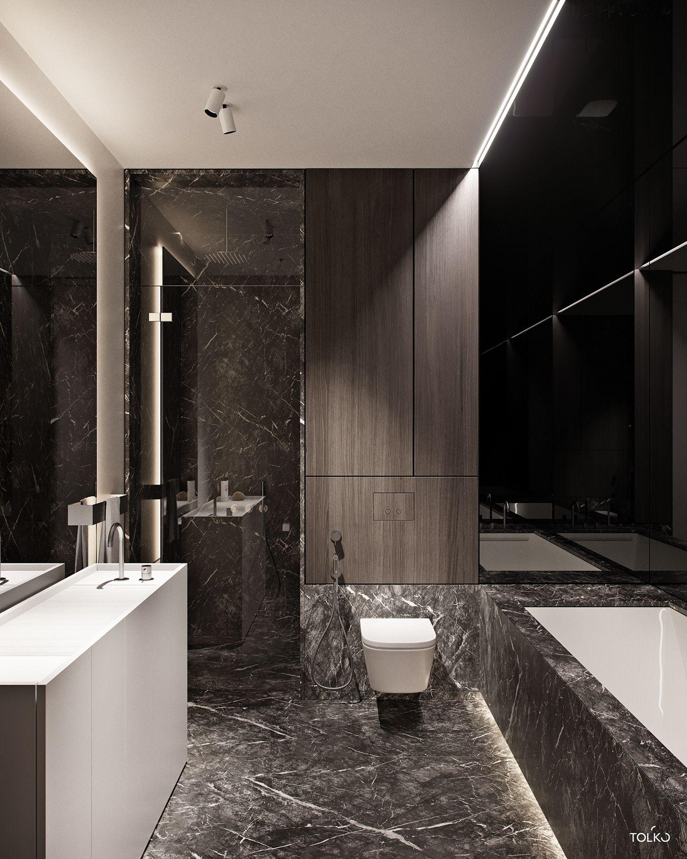 Tol Ko Almond Flat In Privilege On Behance Luxury Interior Design Luxury Interior Bathroom Design