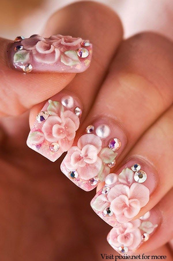 Attractive Extreme Nail Art Designs Pictures - Nail Paint Design ...