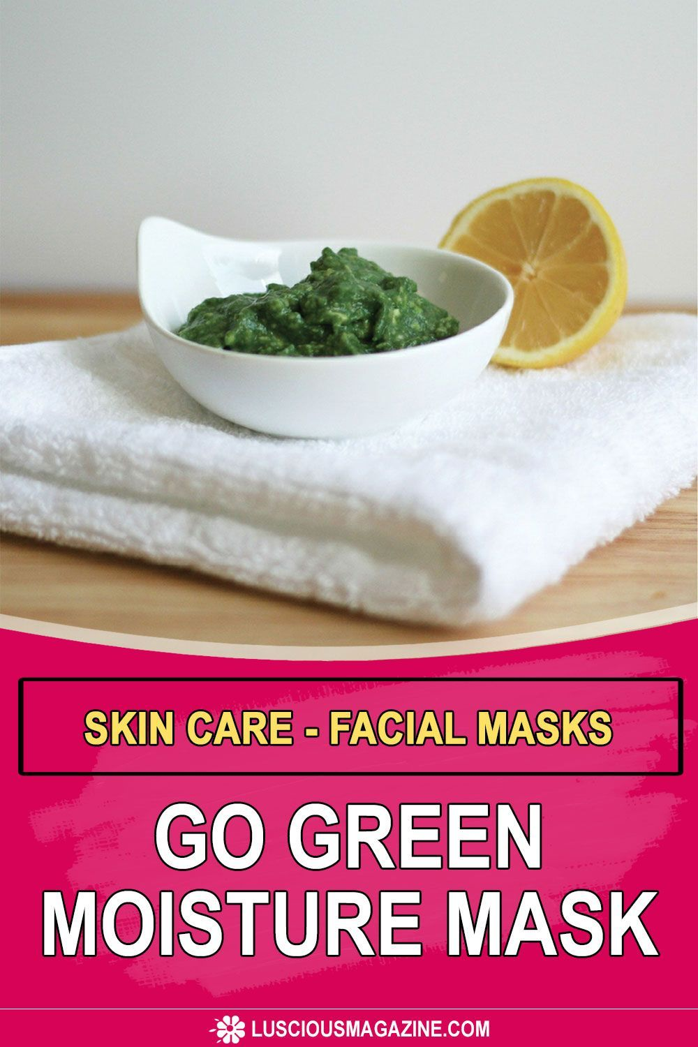 Go green with the avocado and spirulina found in this recipe and your skin will glow from the life-giving vitamins, emollients, and vital antioxidants in this super-nutrient-charged facial mask... #homeremedies #homemadeproducts #homemade #herbs #flowers #garden #backyard #health #herbal #infusedoils #skincare #beauty #homeskincare #homebeauty #homefacemasks  #homebeauty #facemasks  #facialmasks #GreenMoistureMask  #MoistureMask