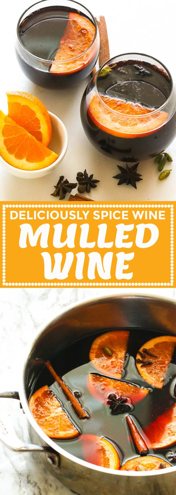 Photo of Mulled Wine – Immaculate Bites