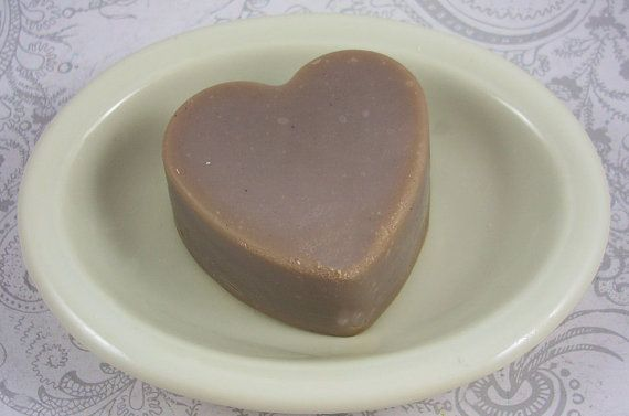 Bellatrix Heart Shaped Cold Process Soap by pzcreations22 on Etsy, $4.00