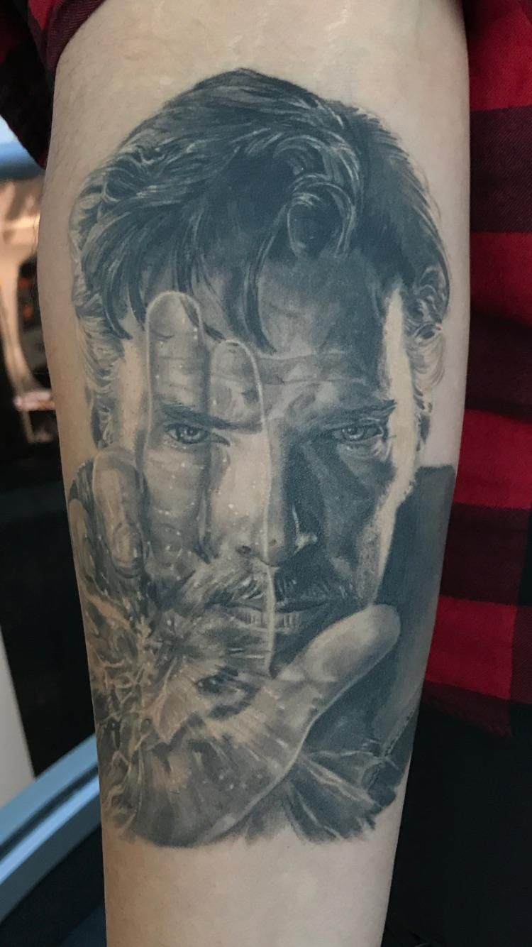 Doctor Strange By Andy Pho At Skin Design Tattoos Las Vegas Nevada Weird Tattoos Marvel Tattoos Doctor Strange